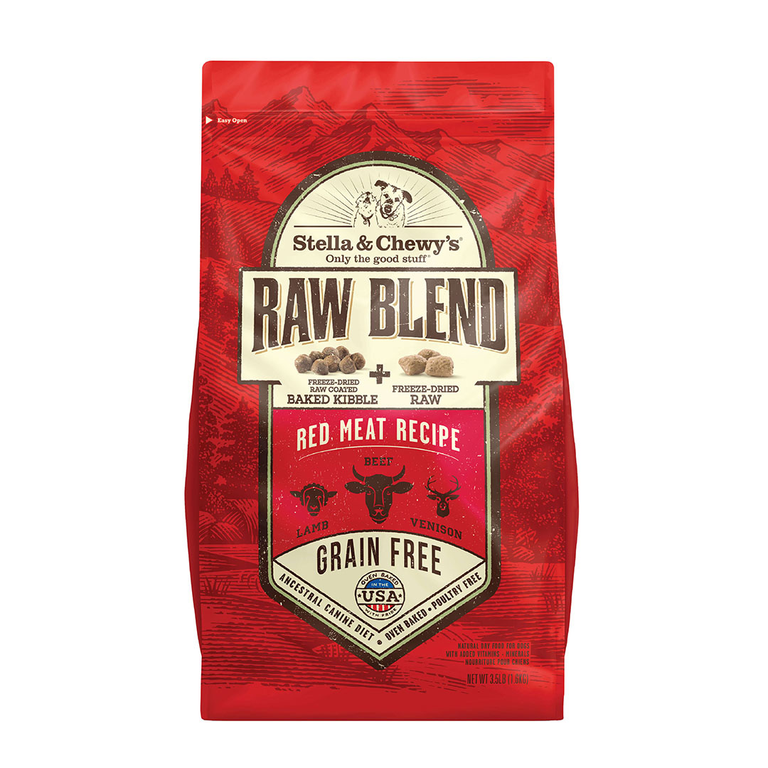 Stella & Chewy's Stella & Chewy's Dog Kibble Raw Blend Grain Free Red Meat