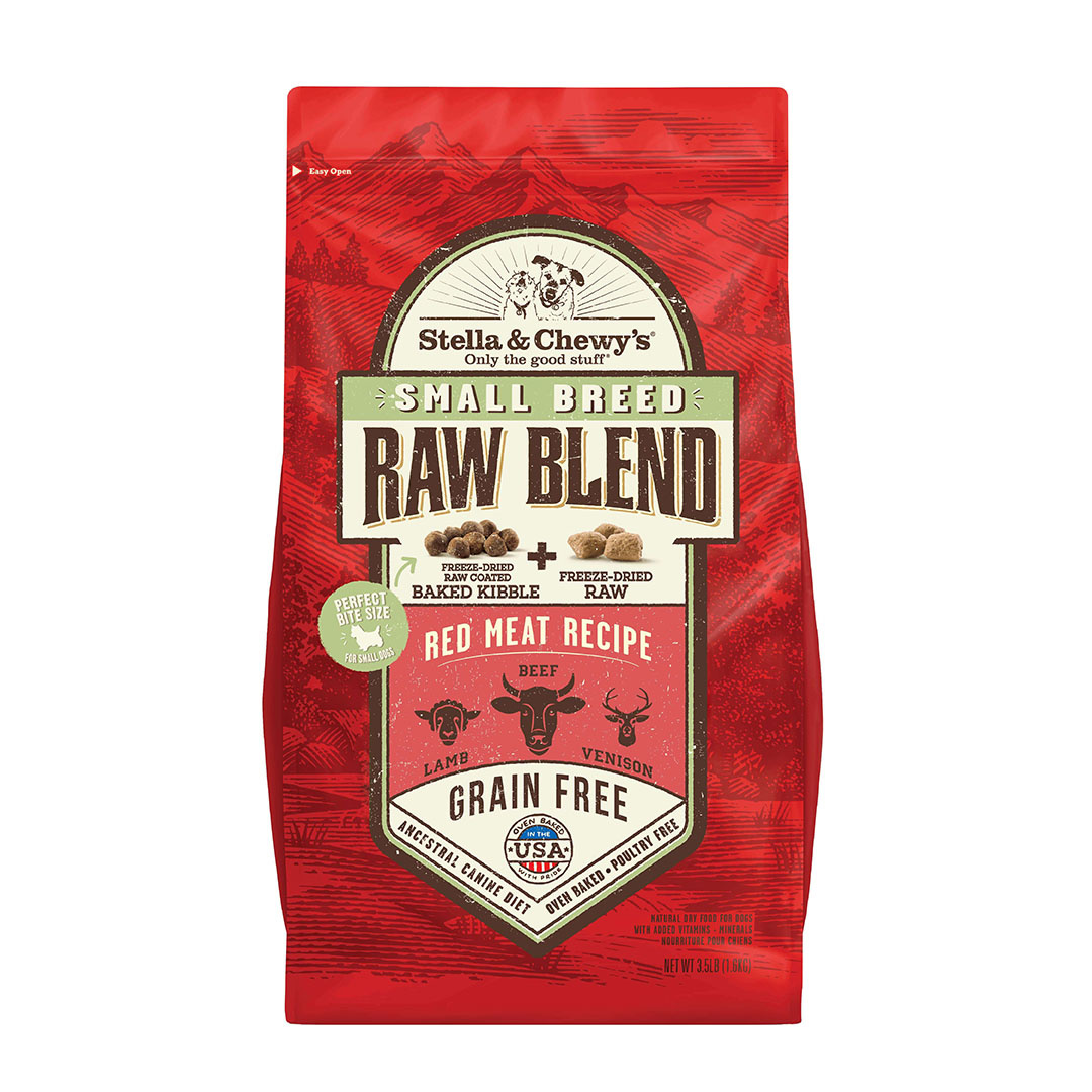 Stella & Chewy's Stella & Chewy's Dog Kibble Grain Free Raw Blend Red Meat Small Breed