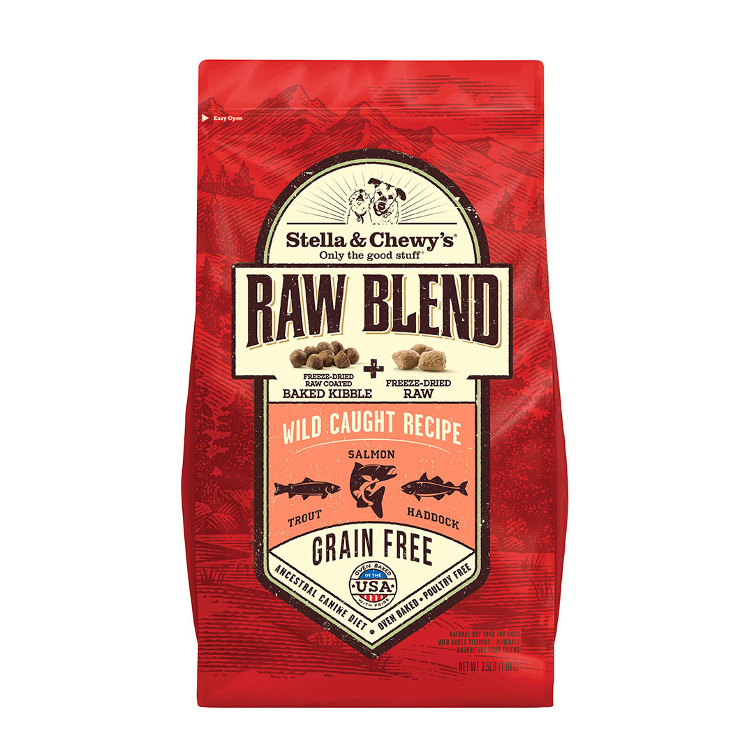 Stella & Chewy's Stella & Chewy's Dog Kibble Raw Blend Grain Free Wild Caught