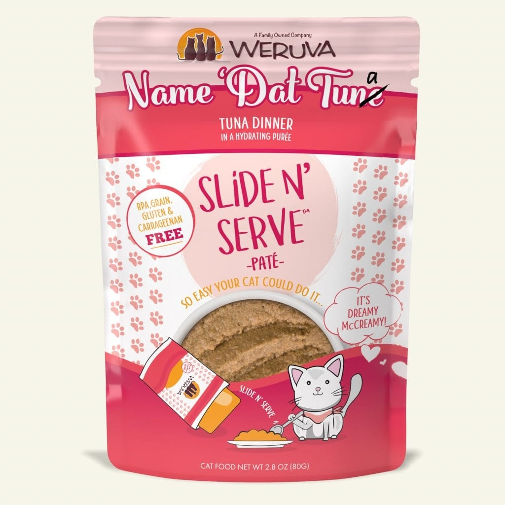 Weruva Cat Food Pouch Grain Free Slide Serve Name That Tuna