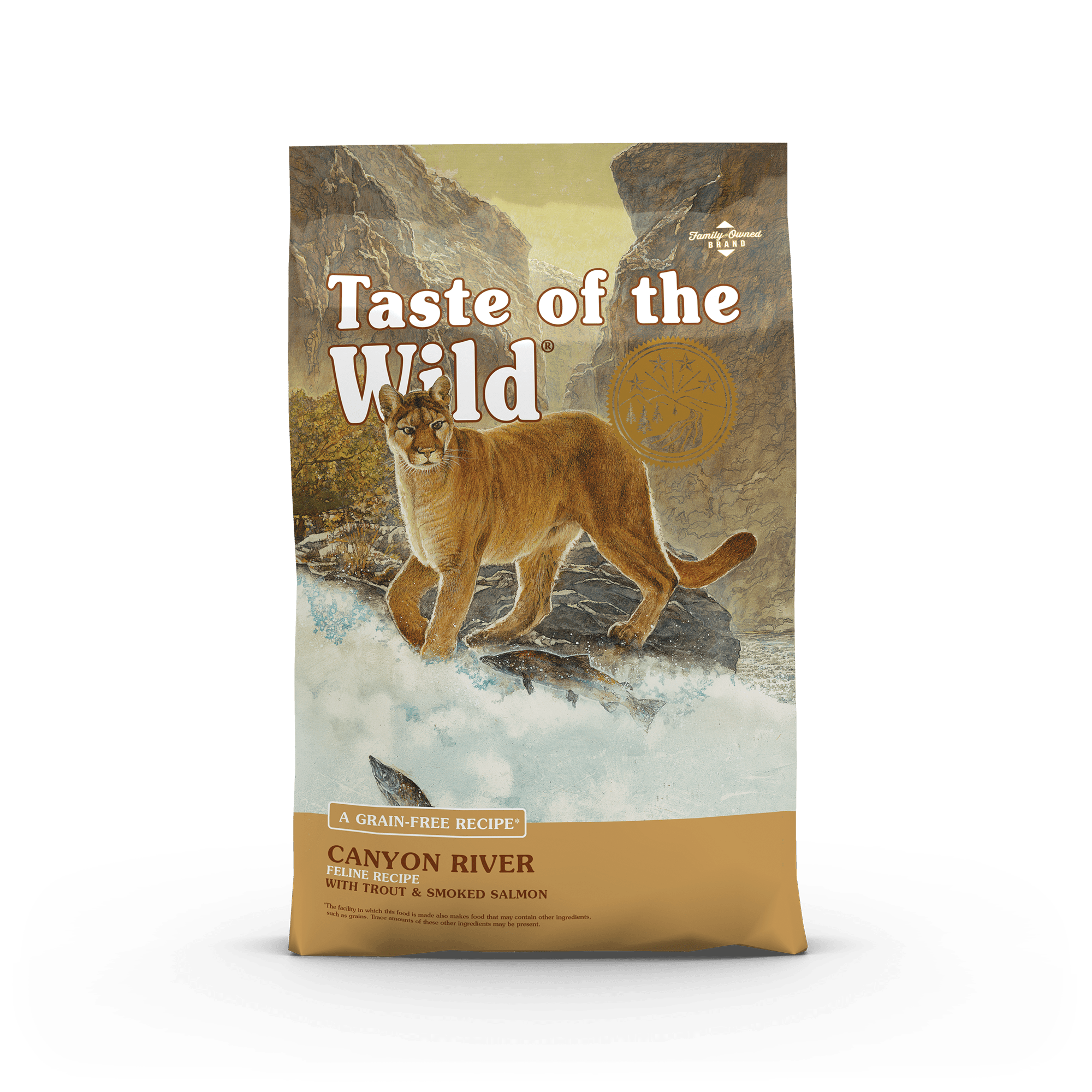 Taste Of The Wild Kibble Grain Free Cat Food Canyon River