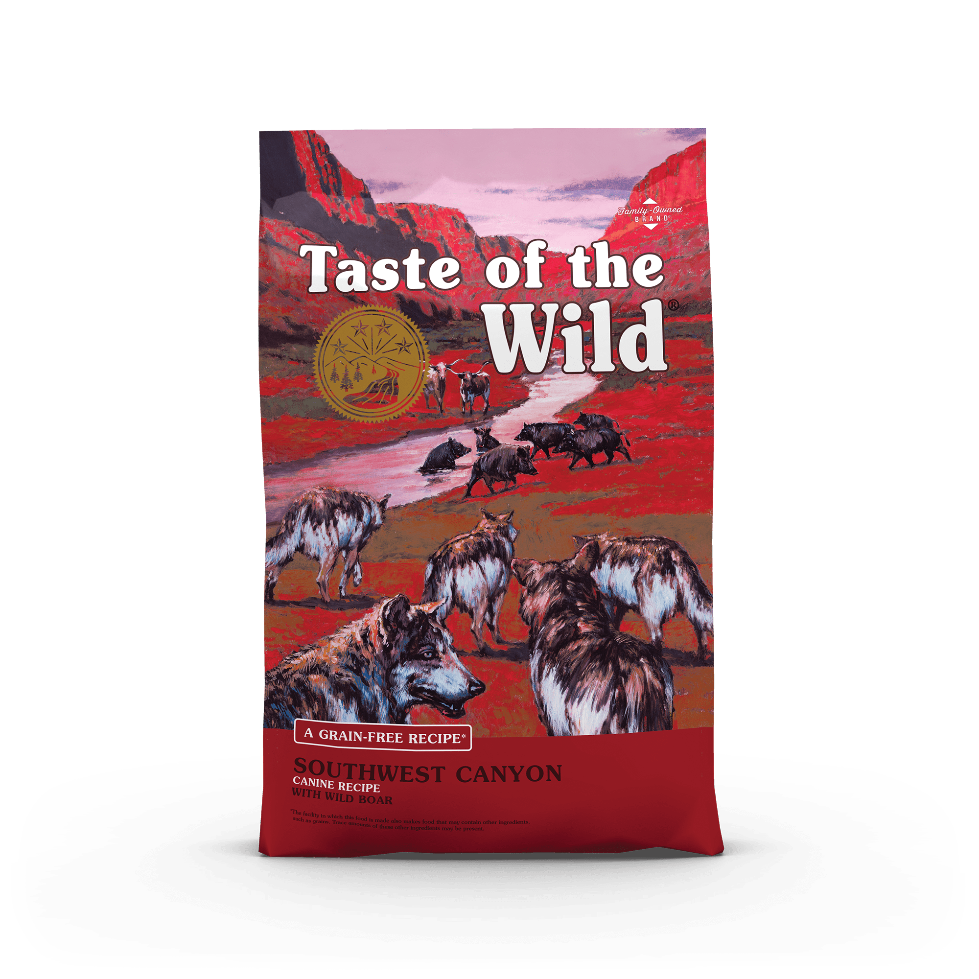 Taste Of The Wild Kibble Grain Free Dog Food Southwest Canyon
