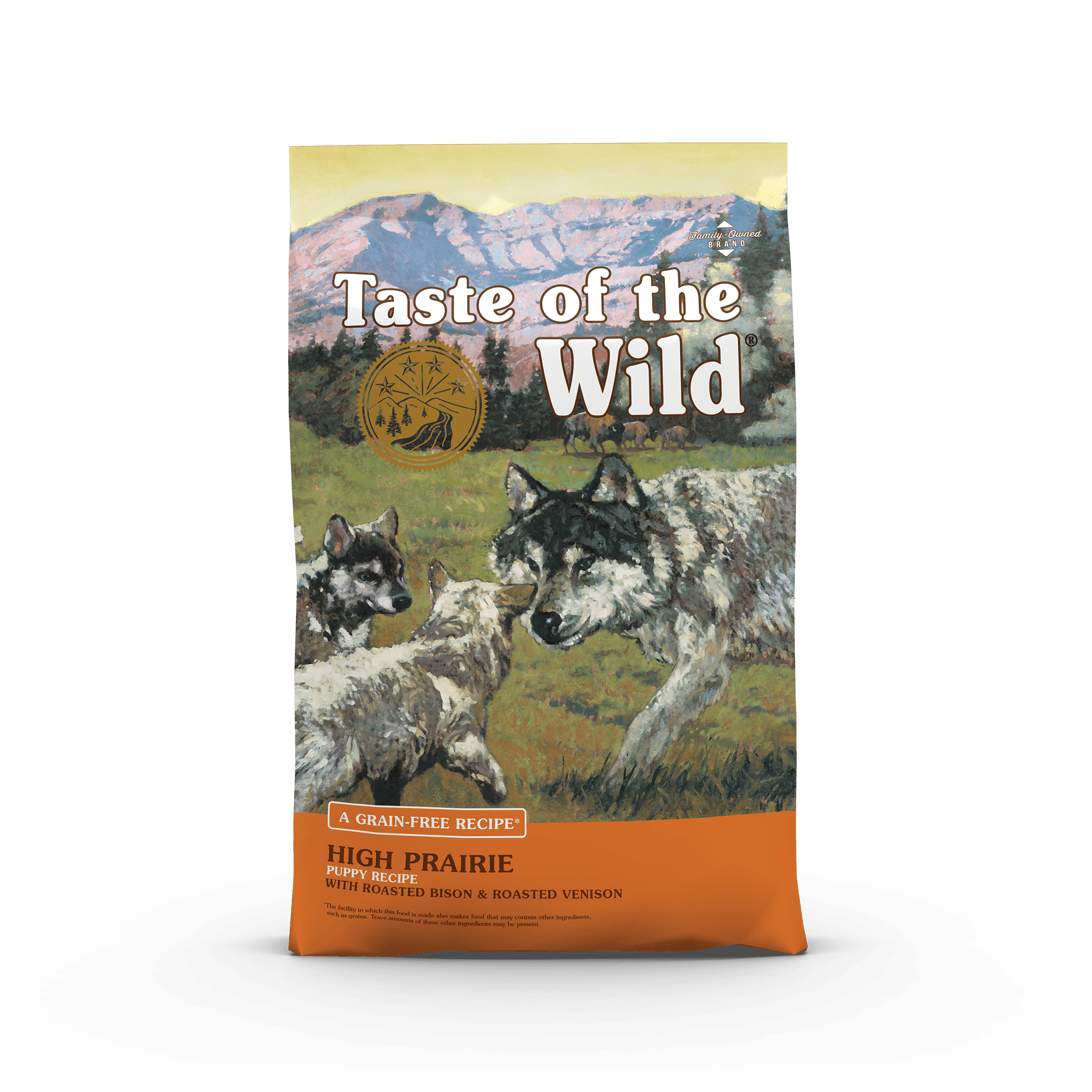 Taste Of The Wild Kibble Grain Free Dog Food High Prairie Puppy