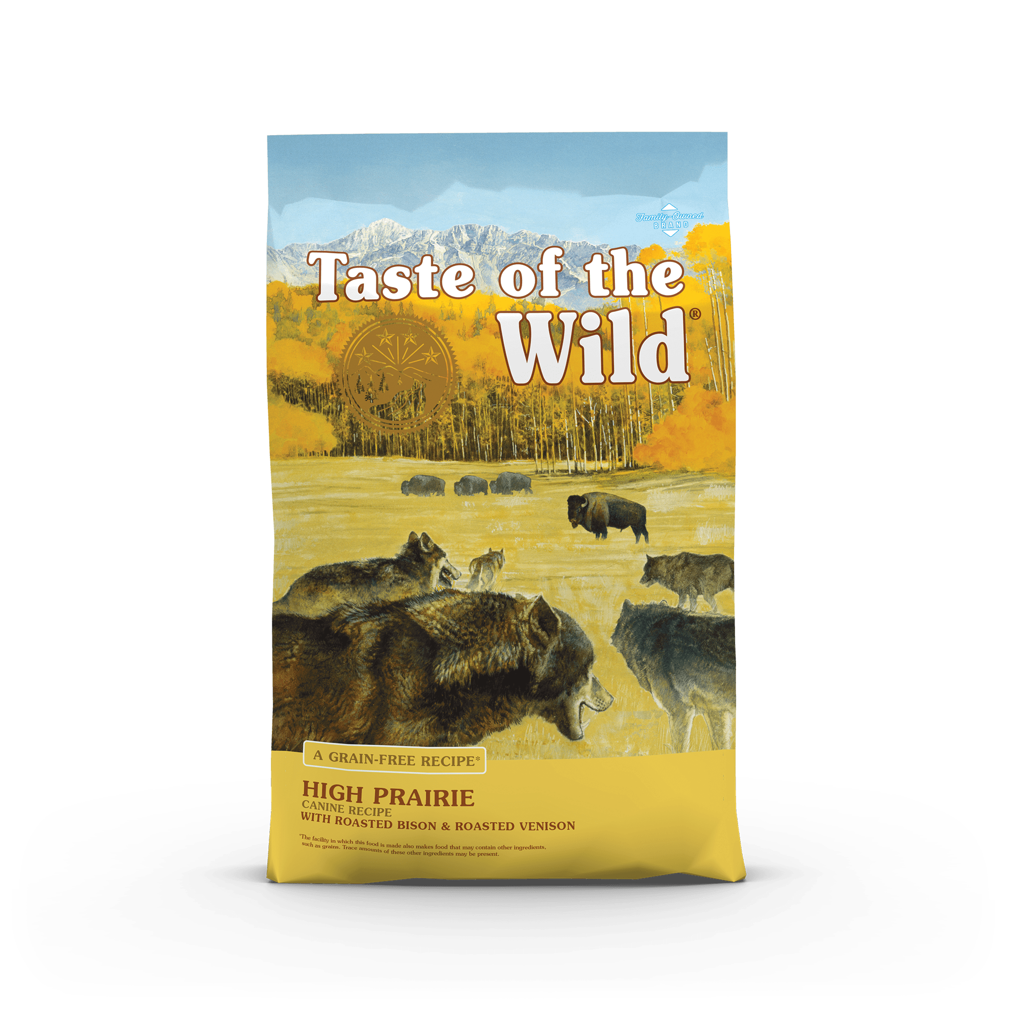Taste Of The Wild Kibble Grain Free Dog Food High Prairie