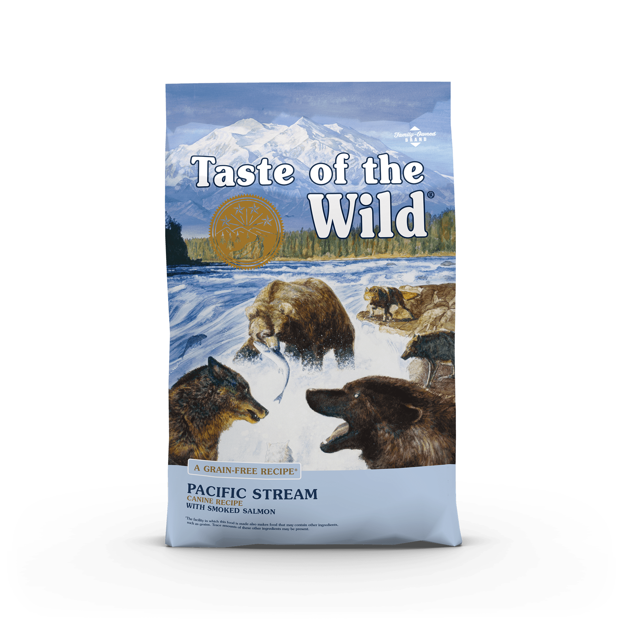 Taste Of The Wild Kibble Grain Free Dog Food Pacific Stream