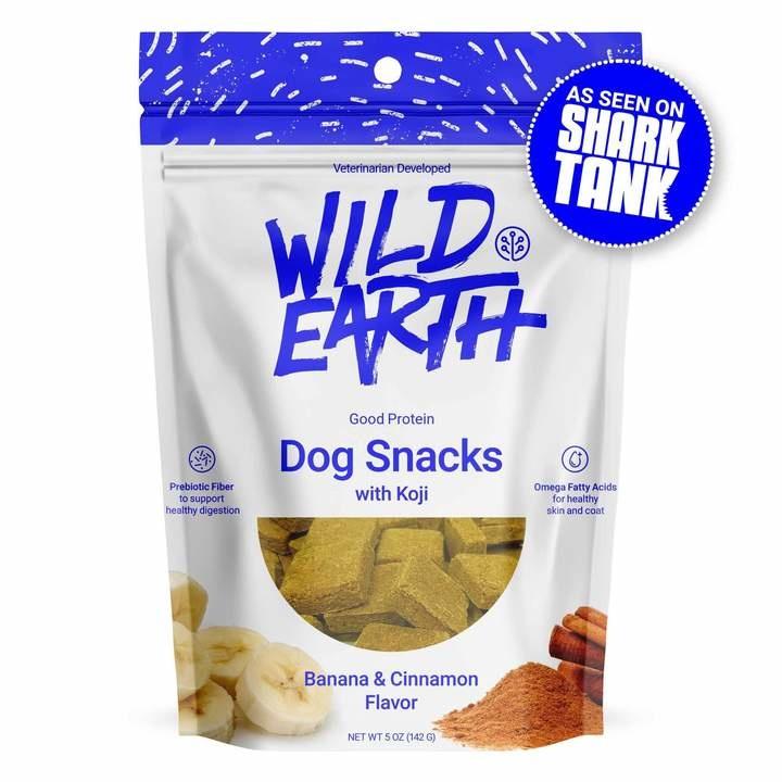 Wild Earth Wild Earth Treat Dog Banana & Cinnamon