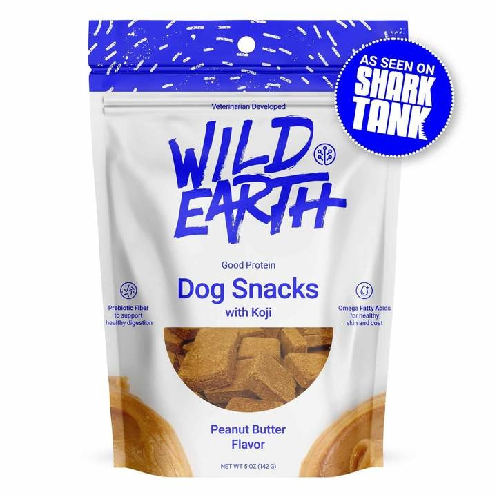 Wild Earth Wild Earth Treat Dog Peanut Butter