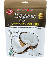 Grandma Lucy Treat Biscuit Dog Organic Coconut