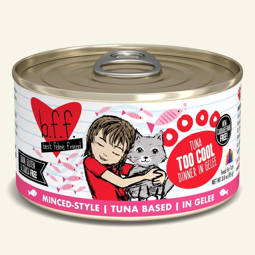 Weruva Cat Food Can Grain Free BFF Tuna Too Cool