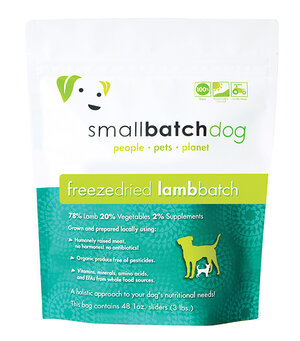 SmallBatch Smallbatch Freeze Dried Dog Food Sliders Lamb