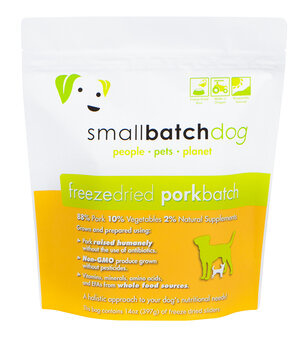 SmallBatch Smallbatch Freeze Dried Dog Food Sliders Pork
