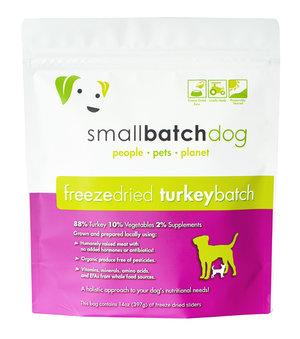 SmallBatch Smallbatch Freeze Dried Dog Food Sliders Turkey