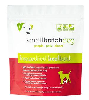SmallBatch Smallbatch Freeze Dried Dog Food Sliders Beef