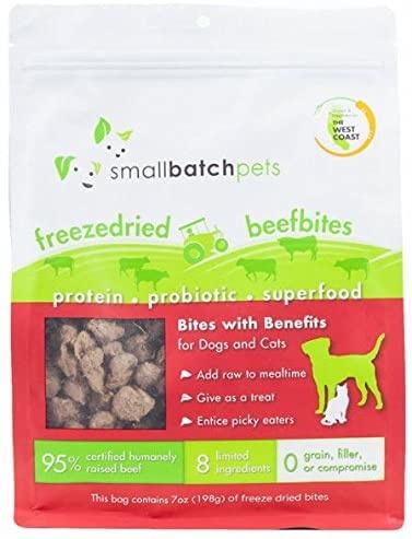 SmallBatch Smallbatch Freeze Dried Dog Food Smallbites Beef