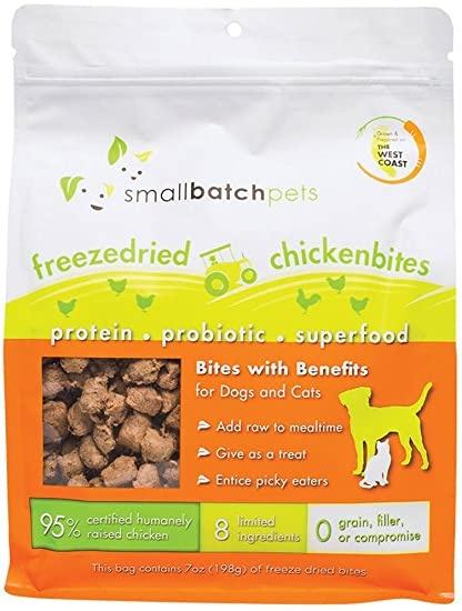 SmallBatch Smallbatch Freeze Dried Dog Food Smallbites Chicken