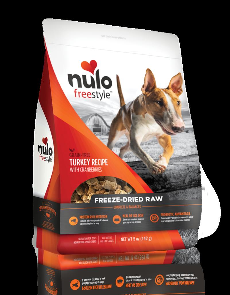 Nulo Nulo Freeze Dried Dog Food Turkey