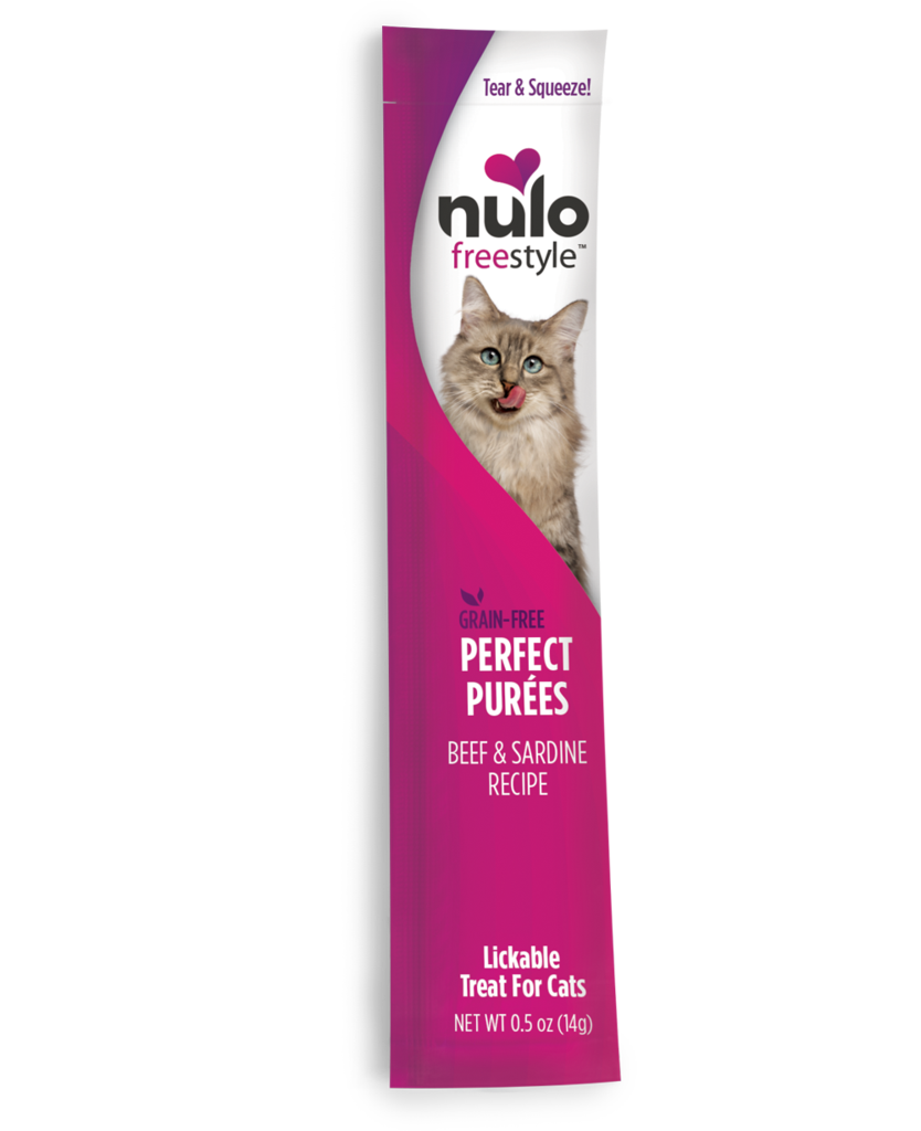 Nulo Nulo FreeStyle Cat Perfect Puree Beef & Sardine