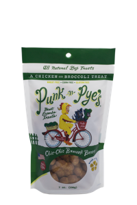 Punk N Pye's Biscuit Treat Dog Chic Chic Broccoli Bonzo Lil Bites