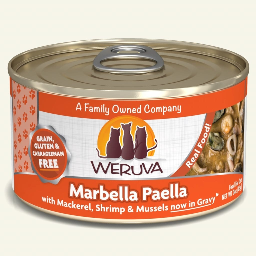 Weruva Cat Food Can Grain Free Classic Marbella Paella