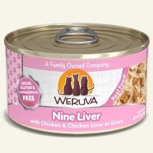 Weruva Cat Food Can Grain Free Classic Nine Liver