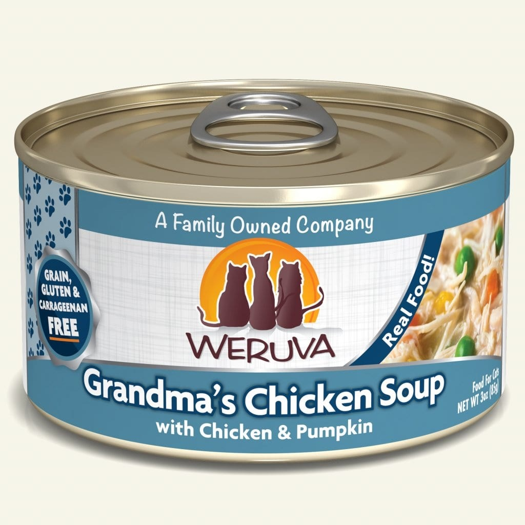 Weruva Cat Food Can Grain Free Classic Grandma's Chicken Soup