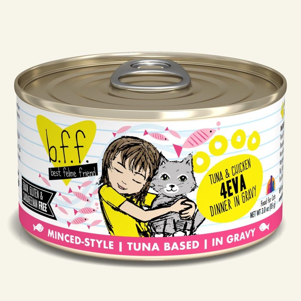 Weruva Cat Food Can Grain Free BFF Tuna & Chicken 4 Eva