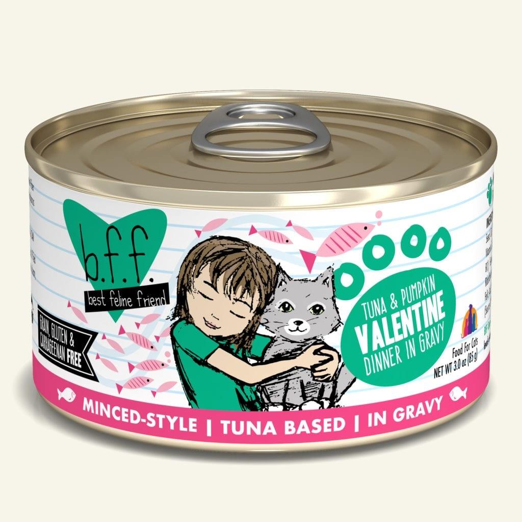 Weruva Cat Food Can Grain Free BFF Tuna & Pumpkin Valentine