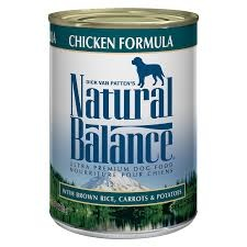 Natural Balance Dog Food Can With Grains Chicken
