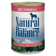 Natural Balance Dog Food Can With Grains Beef