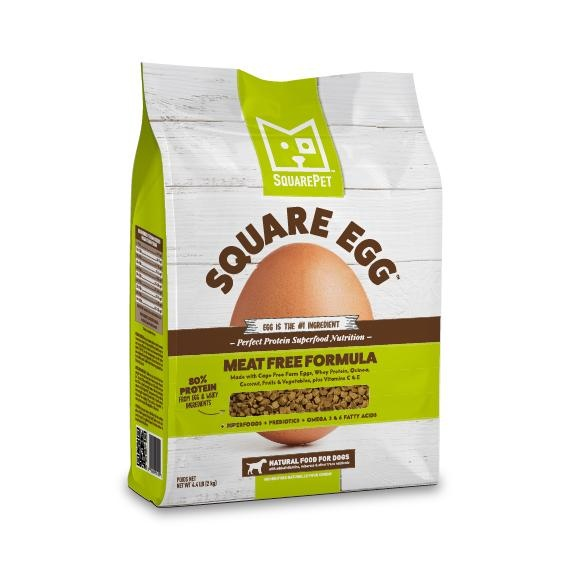 Square Pet SquarePet Kibble With Grain Dog Food Square Egg