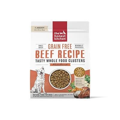 Honest Kitchen Honest Kitchen Kibble Grain Free Dog Food Whole Food Clusters Beef