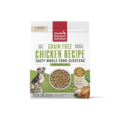 Honest Kitchen Honest Kitchen Kibble Grain Free Dog Food Whole Food Clusters Chicken