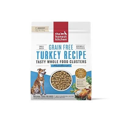 Honest Kitchen Honest Kitchen Kibble Grain Free Dog Food Whole Food Clusters Turkey
