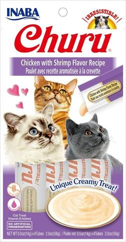 Ciao Ciao Churu Treat Cat Chicken & Shrimp