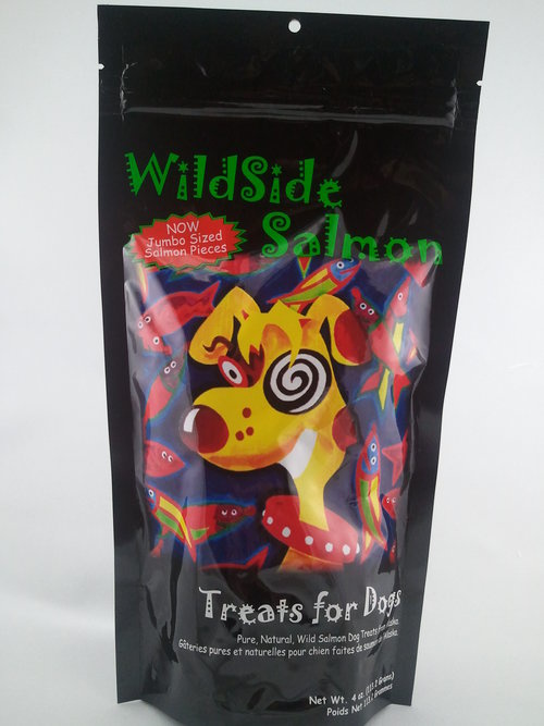 Wildside Salmon Treat Freeze Dried Dog Salmon