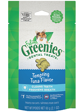 Greenies Treat Dental Feline Tuna