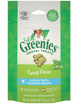 Greenies Treat Dental Feline Catnip