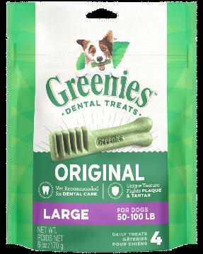 Greenies Treat Dental Dog Large