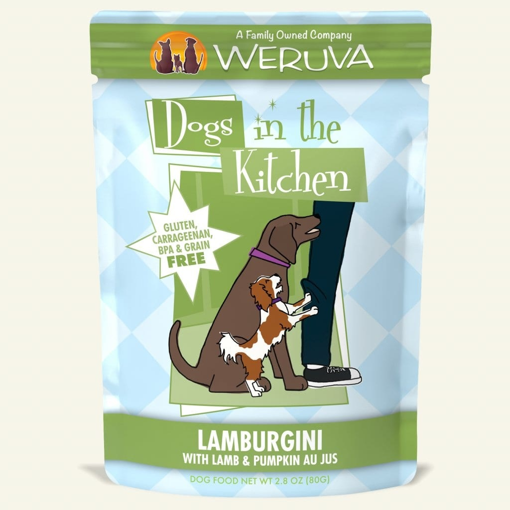 Weruva Dog Food Pouch Grain Free DITK Lamburgini