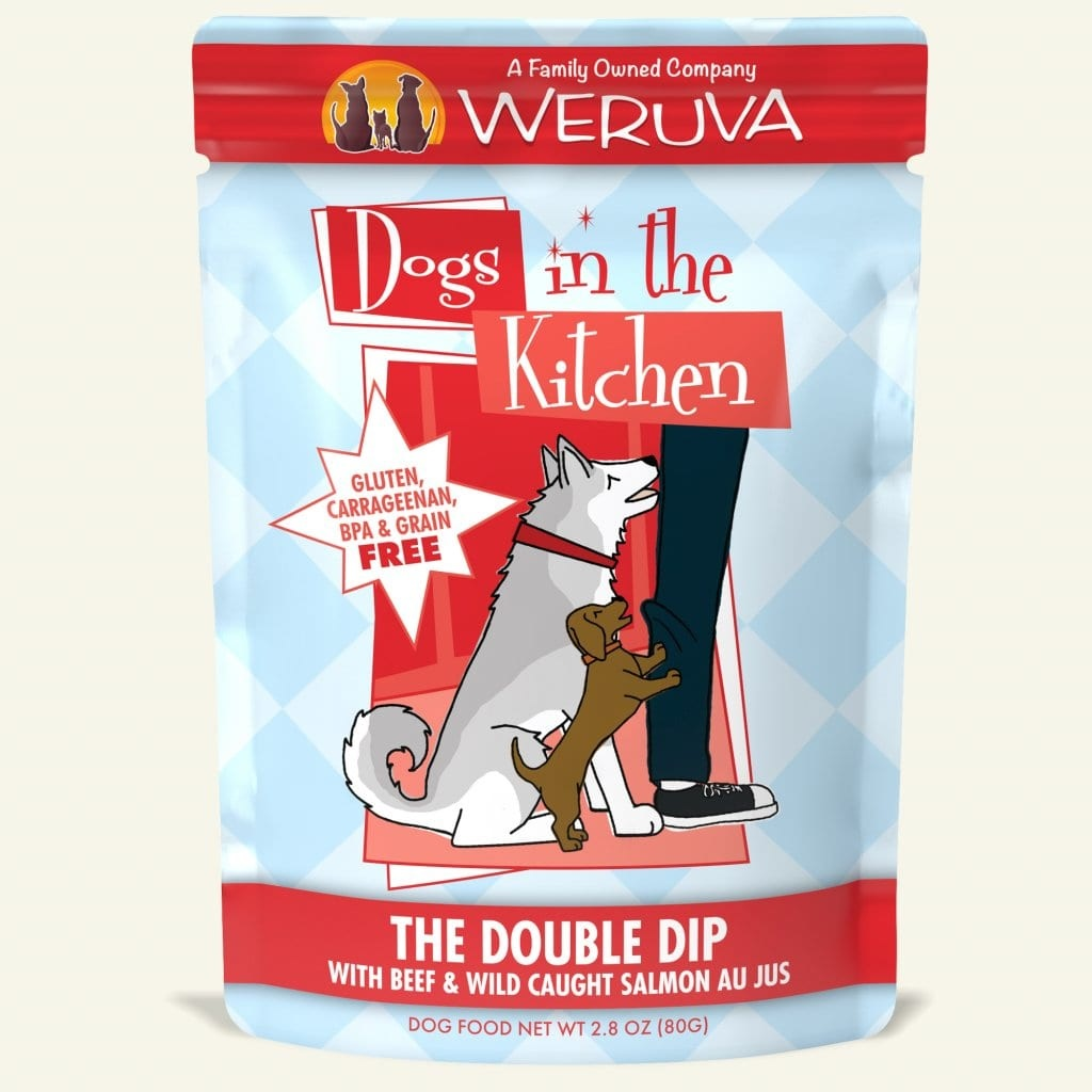Weruva Dog Food Pouch Grain Free DITK Double Dip