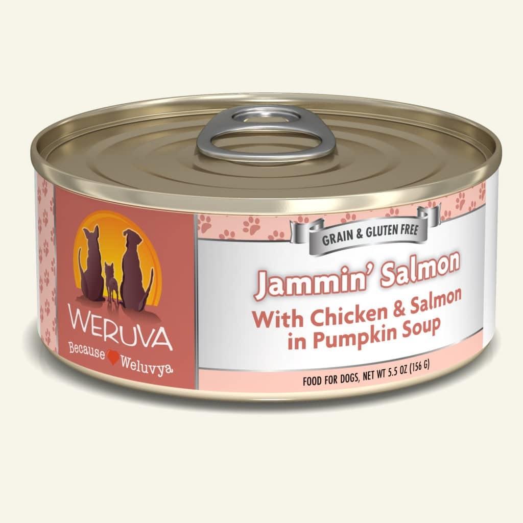 Weruva Dog Food Can Grain Free Jammin Salmon