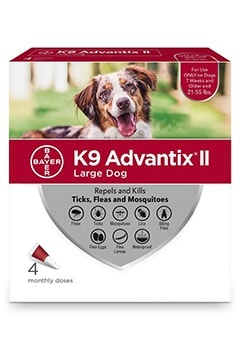 Advantix II Dog 21-55# Large