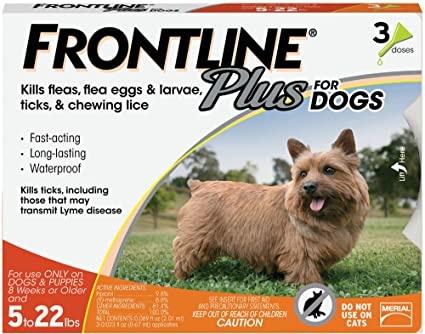 Frontline+ Dog 5-22#