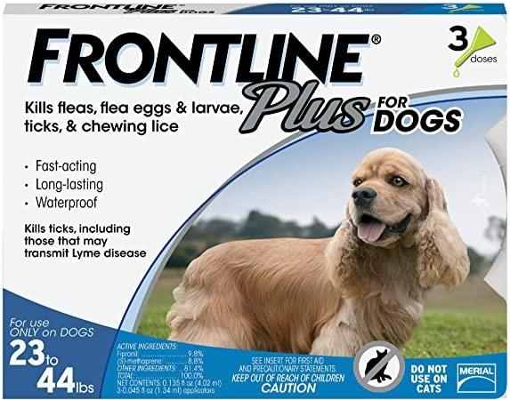 Frontline+ Dog 23-44#
