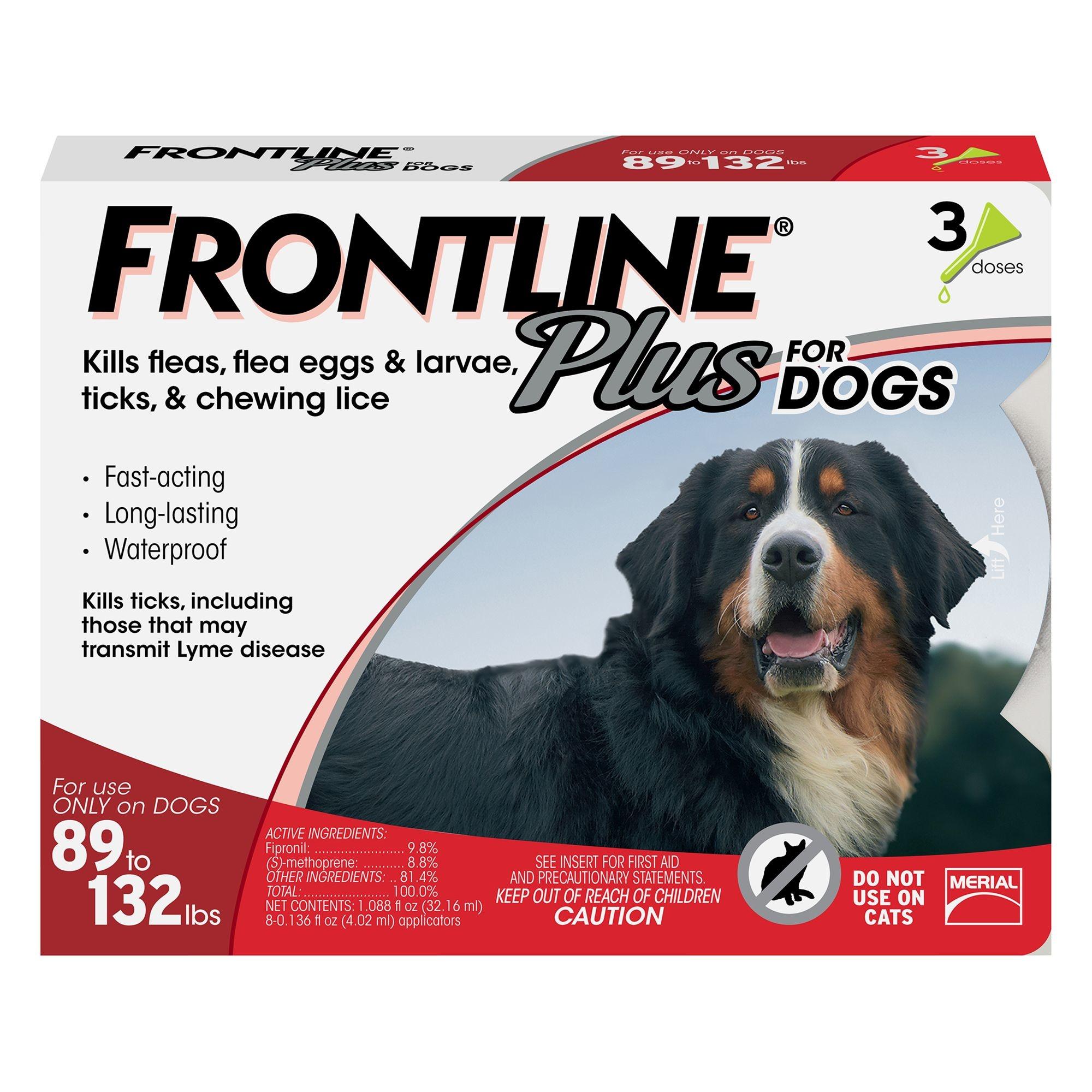 Frontline+ Dog 89-132#