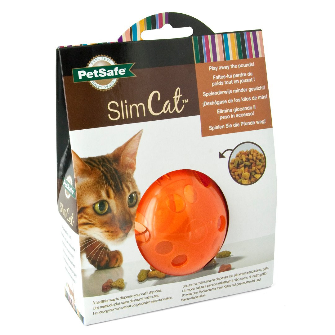 Petsafe Cat Toy Slim Cat Treat Ball