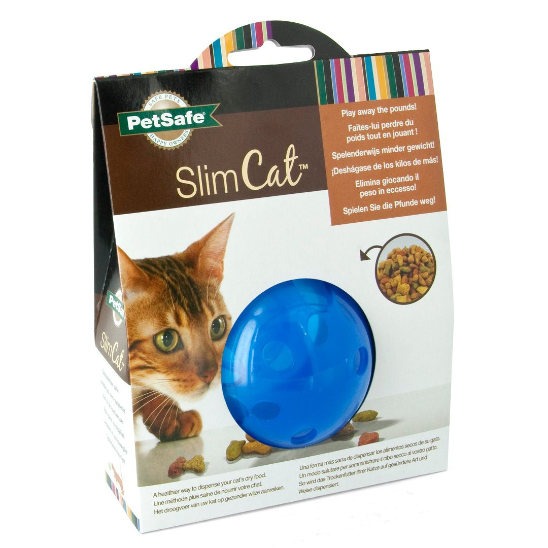 Petsafe Cat Toy Slim Cat Treatball