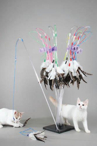 Vee Purrfect Cat Toy