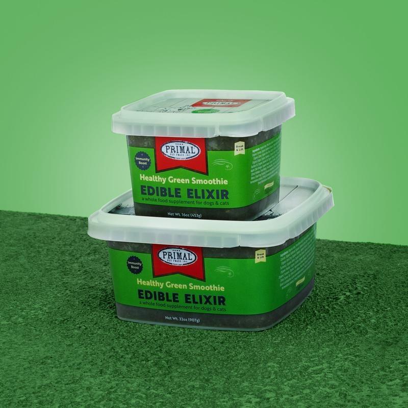 Primal Frozen Edible Elixir Green Smoothie