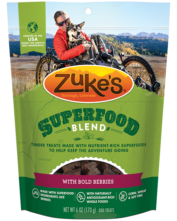 Zukes Treat Dog Superfood Blend Super Berries